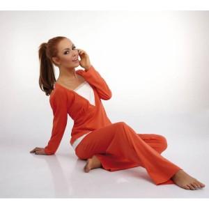 piżama damska długi rękaw