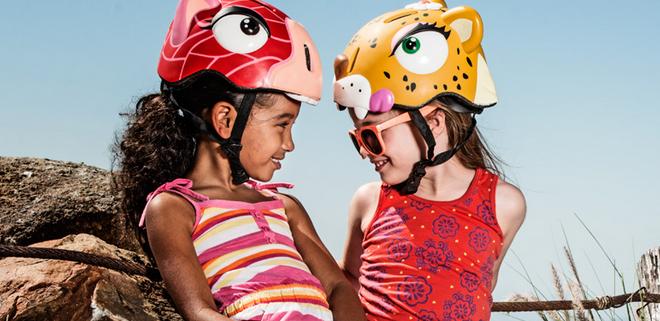 kask na rower dla dziecka