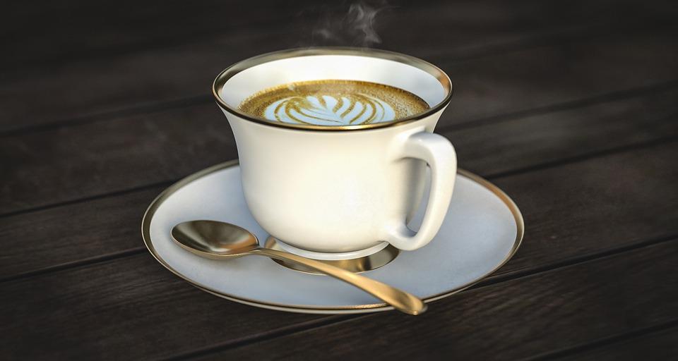 kawa w upał