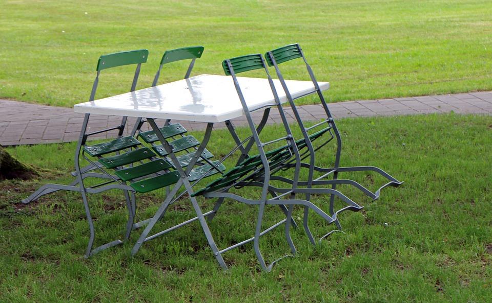 krzesła do ogrodu